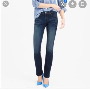 "J. Crew Factory 29"" Matchstick Straight Jean"